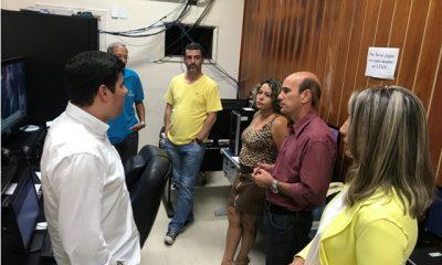 Comitiva da Câmara de Araxá visita a Câmara Municipal de Uberaba