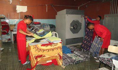 Detentos fazem a manutenção e a limpeza de unidades prisionais de Minas Gerais