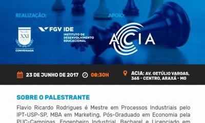 Café empresarial e palestra – FGV