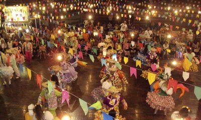 Festas juninas nas escolas e núcleos sociais da rede municipal