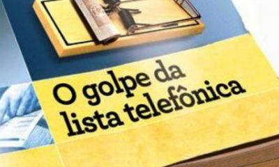 Golpe da lista telefônica