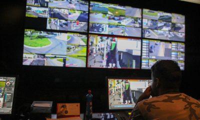 Iniciado instalação de mais 22 câmeras de videomonitoramento