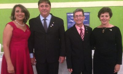 Toma posse nova diretoria do Rotary Club Araxá Norte