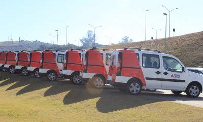Mais veículos para a área da saúde no estado