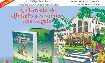 O Colégio Dom Bosco de Araxá lança, com exclusividade, livro que instiga diversas reflexões em adultos e crianças