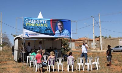 Robson Magela ouve moradores no Gabinete Itinerante