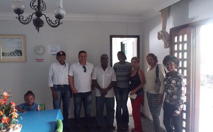 Robson Magela visita a Casa de Apoio aos Pacientes de Araxá em Uberaba