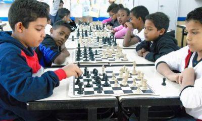 Circuito de Xadrez movimenta escolas municipais de Araxá