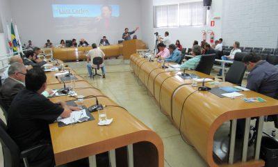 Seis Vereadores usam a tribuna em Reunião Ordinária da Câmara