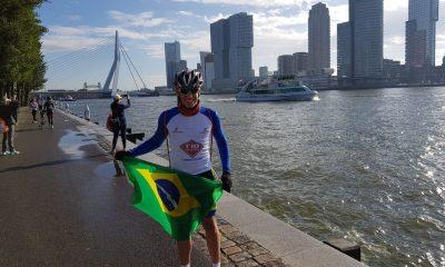 Egresso da Fundação Rio Branco é um dos 40 melhores triatletas do mundo