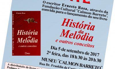 CBMM apresenta a 43ª produção literária do professor Ernesto Rosa