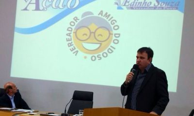 Vereador Edinho Souza – Projeto Vereador Amigo do Idoso