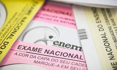 Cartão de confirmação do Enem será liberado em 20 de outubro