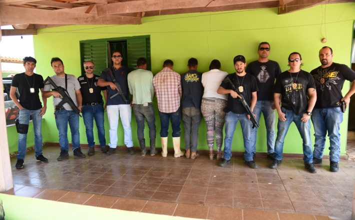"""Polícia Civil deflagra a operação """"REI DO GADO"""", e várias pessoas são presas em Minas Gerais e Goiás"""