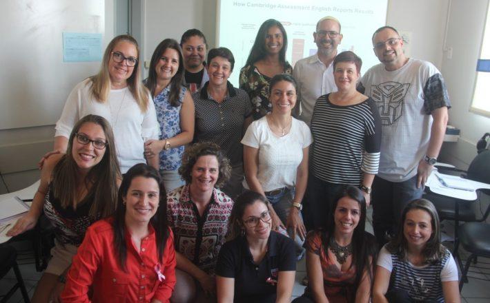 Cultura Inglesa recebe representantes de Cambridge Assessment English