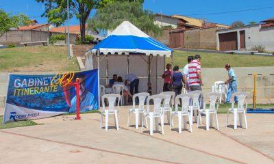 Moradores do bairro Padre Alaor participam do Gabinete Itinerante do vereador Robson Magela