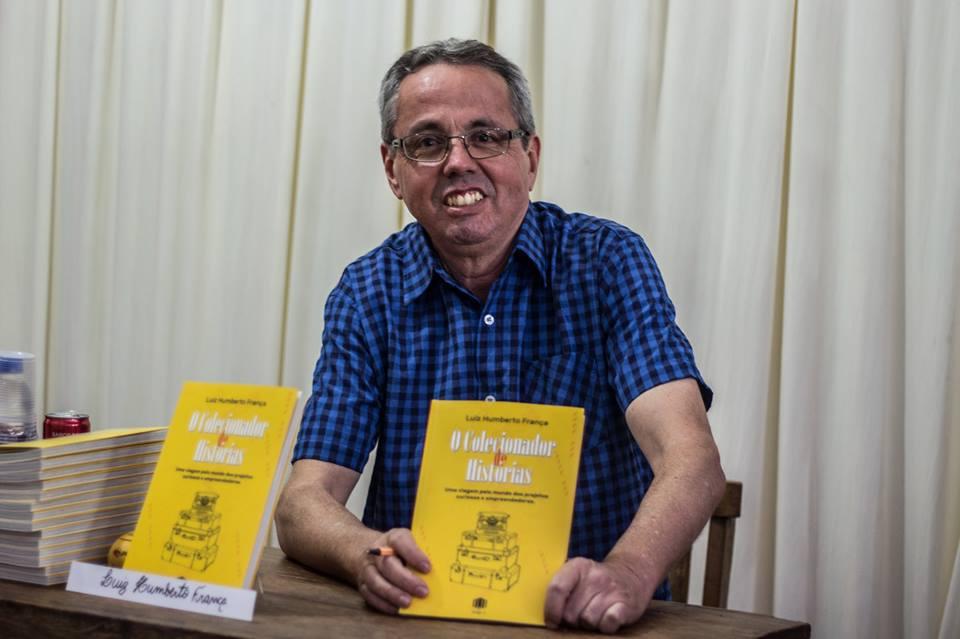 Vem aí o colecionador de histórias, novo livro do escritor Luiz Humberto França