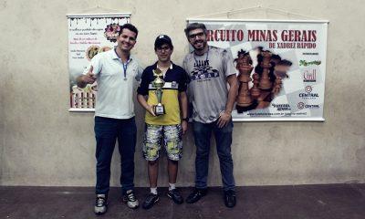 Araxaense Vitor Frois conquista a III Etapa do Circuito Minas Gerais de Xadrez Rápido 2017