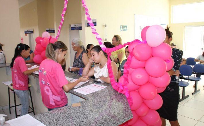 Outubro Rosa oferece atividades e atendimentos com orientação às mulheres