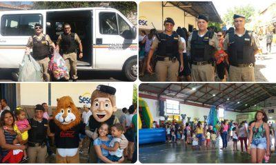 Polícia Militar participa do Integração Criança em Araxá