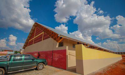 Jardim Natália ganha novo Ginásio Poliesportivo