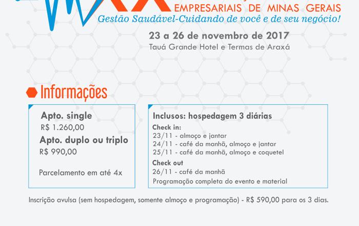 Araxá sedia Congresso das Associações Comerciais e Empresariais de MG