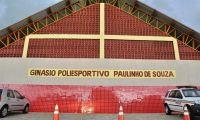 Araxá ganha novo ginásio poliesportivo