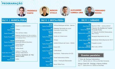 Começa hoje o Congresso das Associações Comerciais e Empresariais de MG
