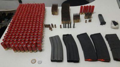 Polícia Militar apreende armamento e munições utilizadas em explosões de caixa eletrônico em Minas Gerais