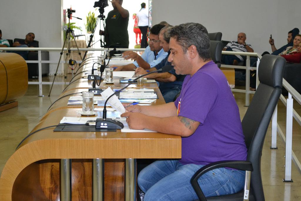 Emendas de Robson Magela ao orçamento são reprovadas