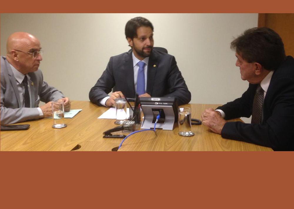 Prefeito tem audiências em Brasília para tratar demandas de Araxá