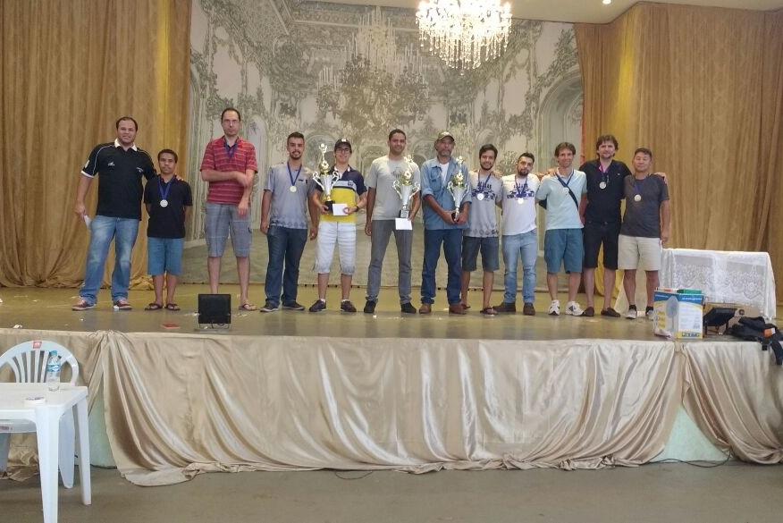 Araxá é vice e terceiro lugar na final do Circuito Minas Gerais de Xadrez Rápido 2017