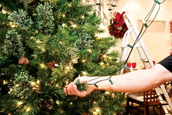 Cemig alerta para os cuidados com a iluminação da decoração natalina