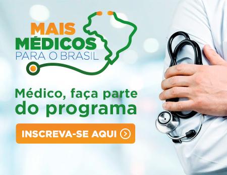 Programa Mais Médicos reabre inscrições para brasileiros