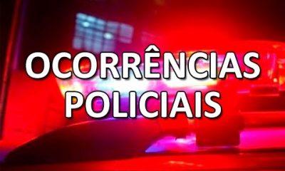 Ocorrências policiais de Araxá e região dos dias 19, 20 e 21 de janeiro