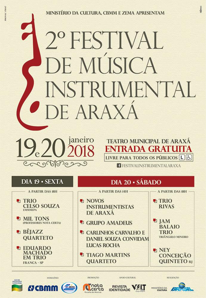 2º Festival de Música Instrumental de Araxá