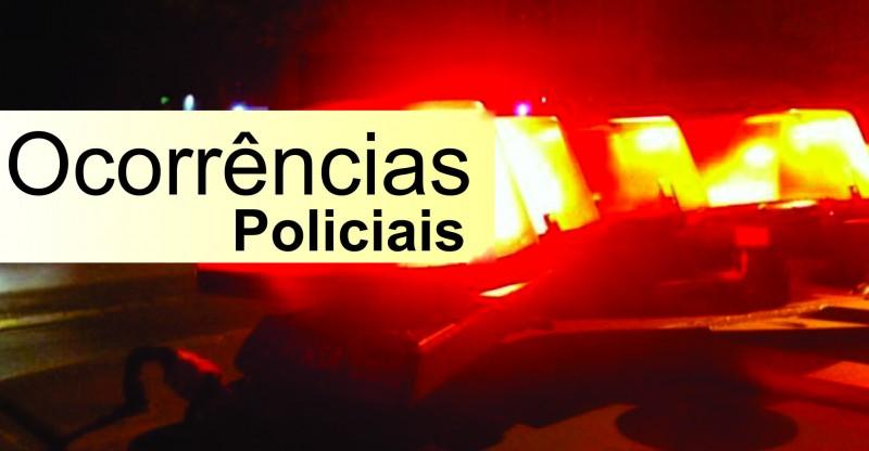 Ocorrências policiais de Araxá e região dos dias 11, 12 e 13 de maio