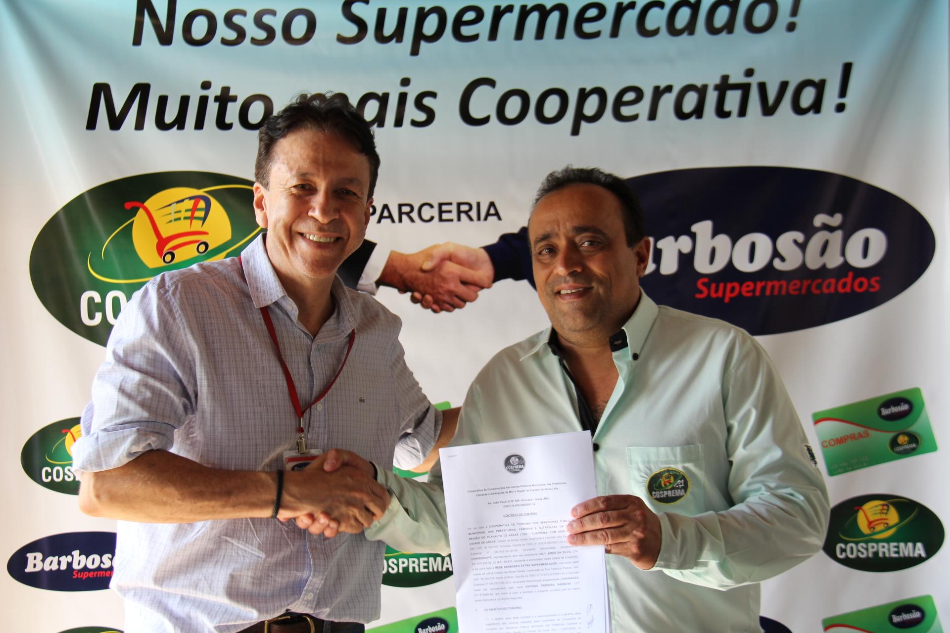 Cosprema anuncia parceria com Rede de Supermercados Barbosão