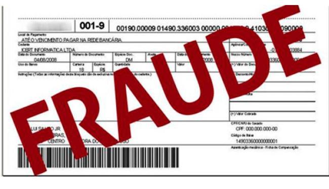 ACIA alerta sobre fraude do boleto