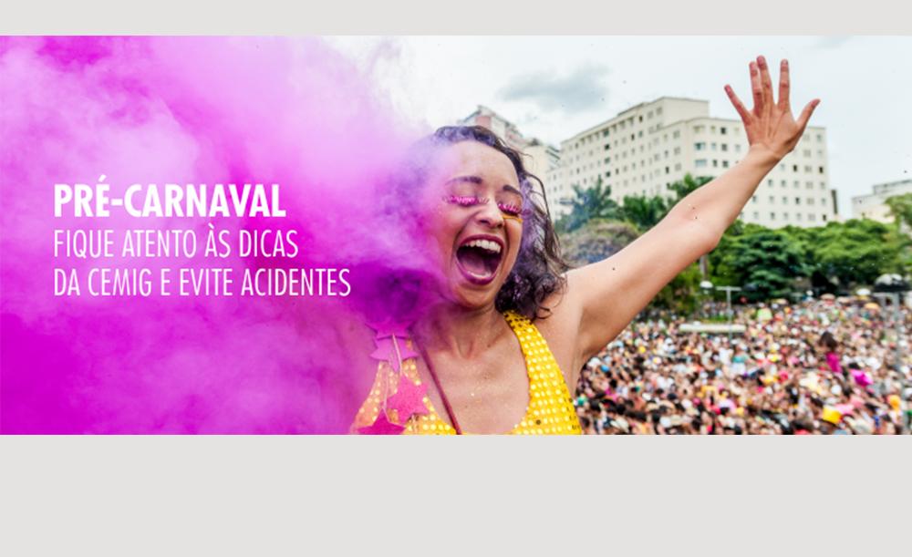 Pré-carnaval: Cemig informa como evitar acidentes com a rede elétrica