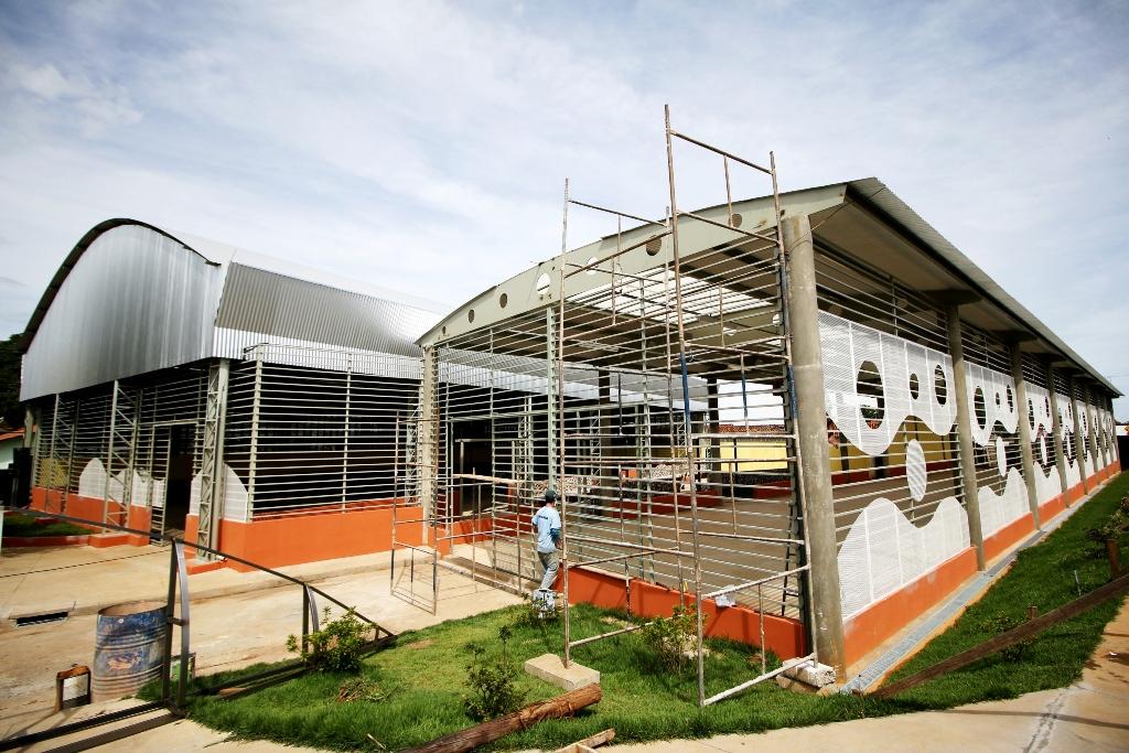 Feira do Bairro Urciano Lemos está em fase final de construção