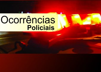 Ocorrências policiais de Araxá e região dos dias 16, 17 e 18 de fevereiro