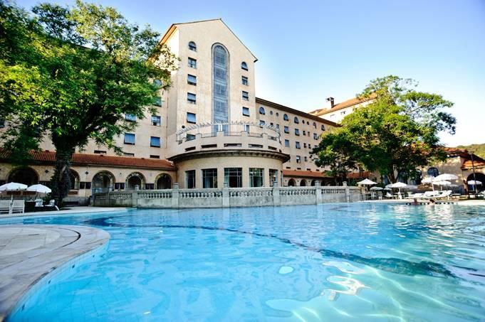 Tauá Grande Hotel de Araxá tem férias no Túnel do Tempo