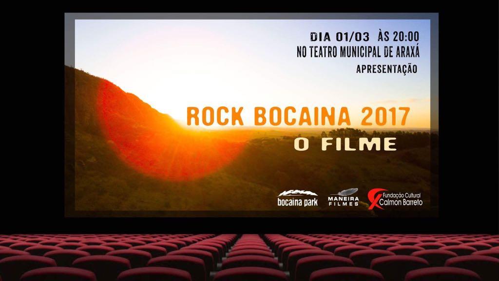 Lançamento Filme Rock Bocaina 2017
