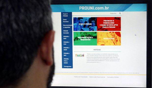Lista de aprovados do Prouni é divulgada nesta quarta-feira