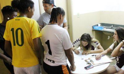 Realizada seleção de atletas, apoiados pela Administração Municipal, para o futsal feminino