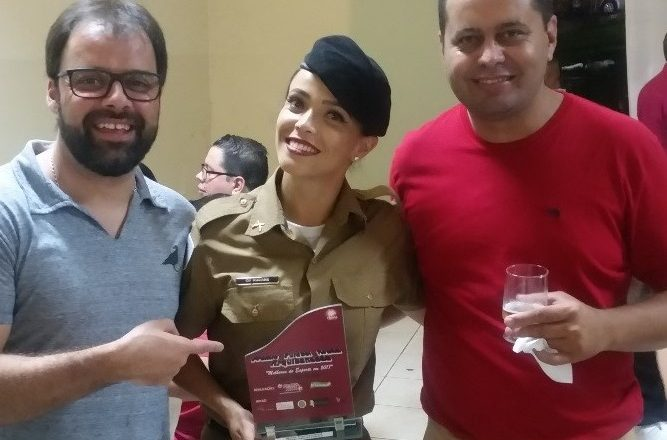 Policial Militar Feminina do 37º BPM é homenageada