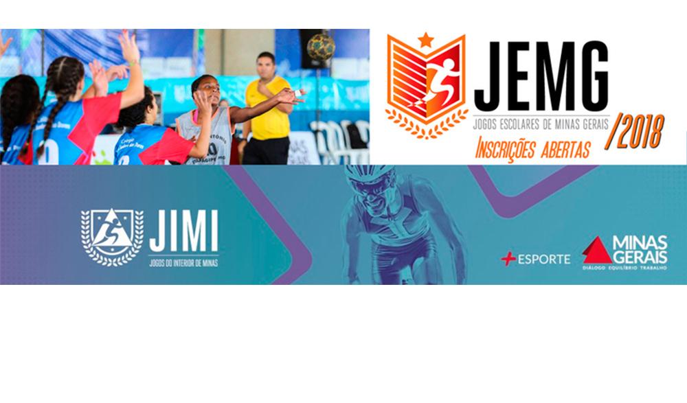 Inscrições para os Jogos Escolares e Jogos do Interior de Minas entram na reta final