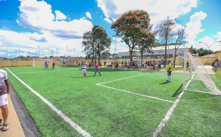4b20e64594 Centro Esportivo Educacional Pedro Bispo lotado na abertura do 1°  Campeonato de Futebol Society