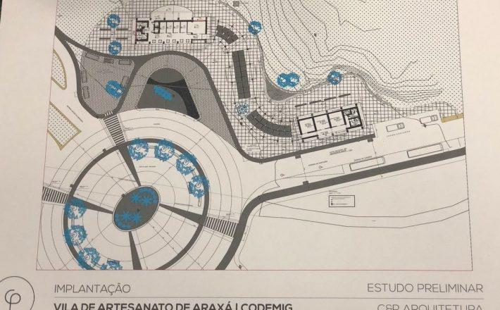 Projeto da Vila do Artesanato pronto para ser licitado